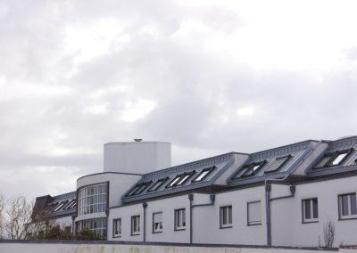 Klinik Nordseeküste - Veluxfenster & Zinkeindeckung